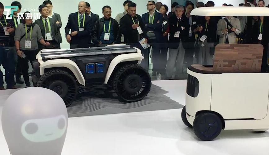 本田推出的三款AI人工智能 3E 机器人