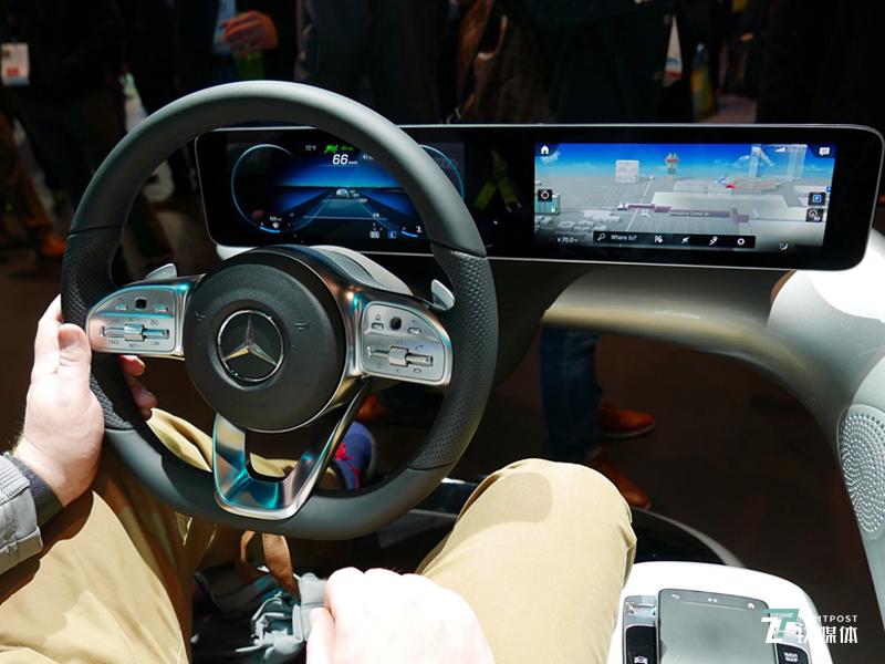 梅赛德斯-奔驰全球首发全新智能人机交互系统MBUX